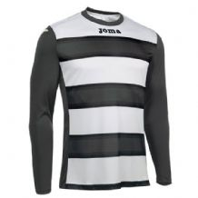 JOMA Europa III Jersey - Anthracite / White (Long Sleeve)
